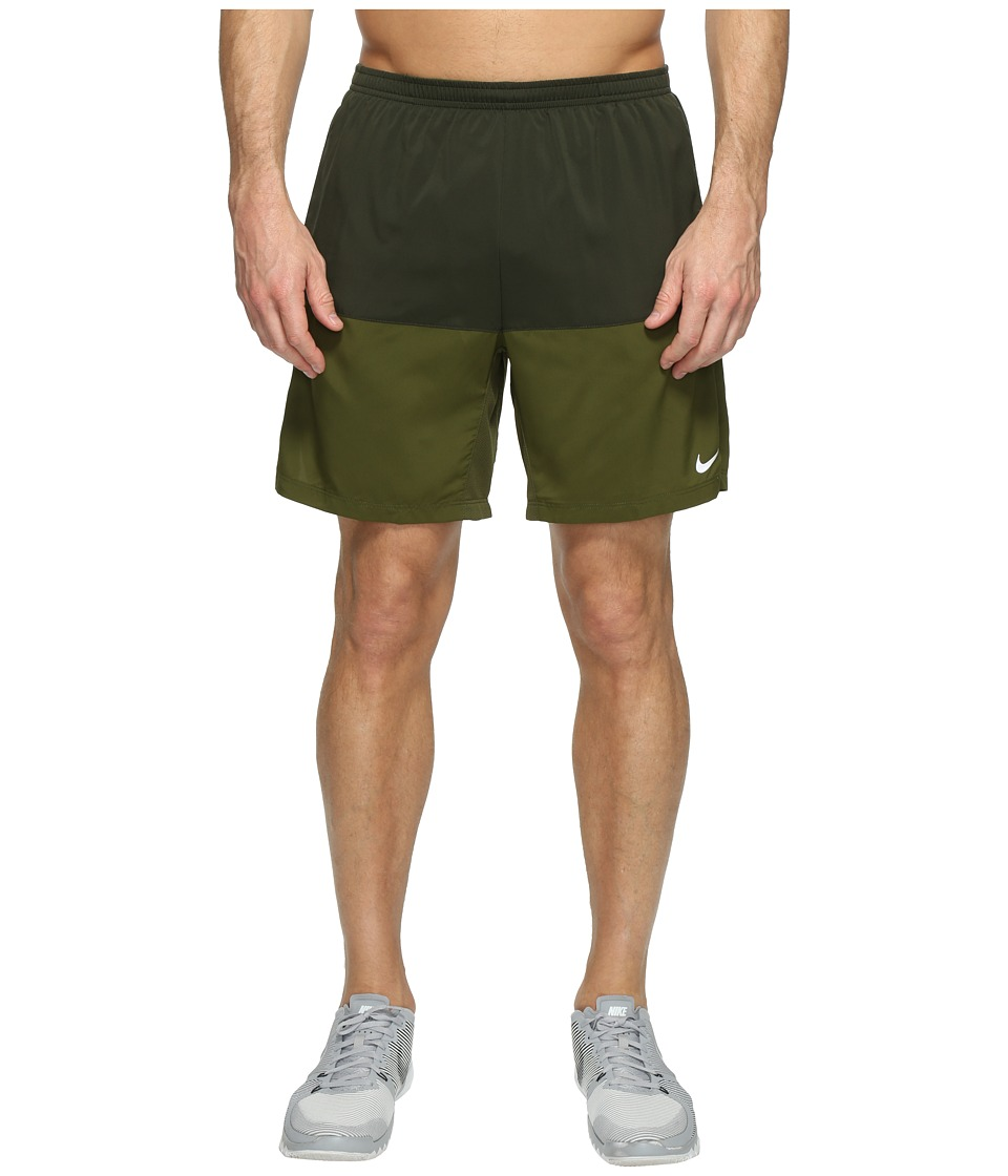 Nike 7 Distance Short (Sequoia/Legion Green/Reflective Silver) Men