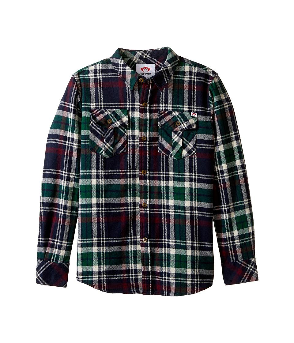 Appaman Kids - Flannel Shirt (Toddler/Little Kids/Big Kids) (Ponderosa Plaid) Boy's Clothing