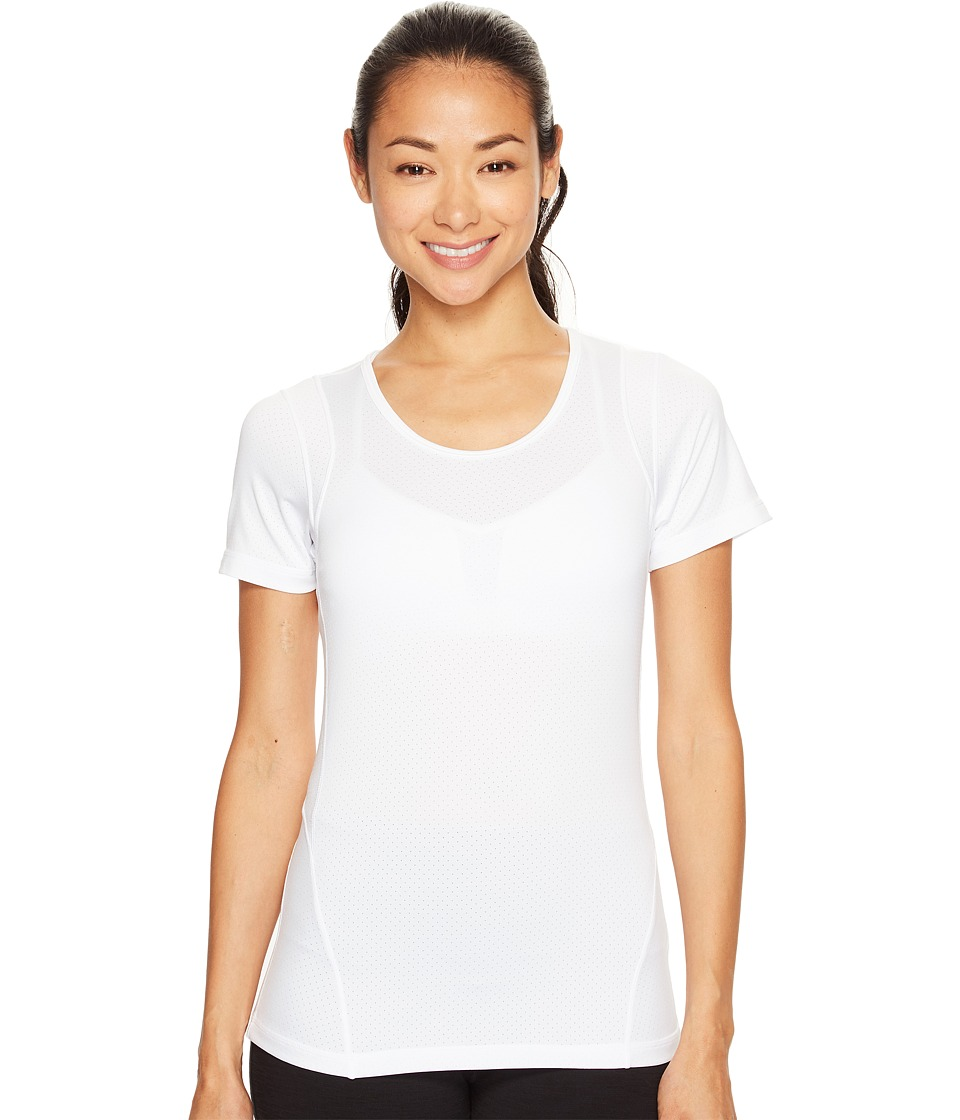 Skirt Sports - Circuit Tee (White) Women's T Shirt
