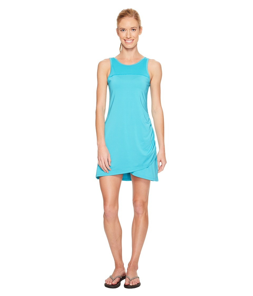 Skirt Sports - Racecation Dress (Aquamarine/Black) Women's Dress