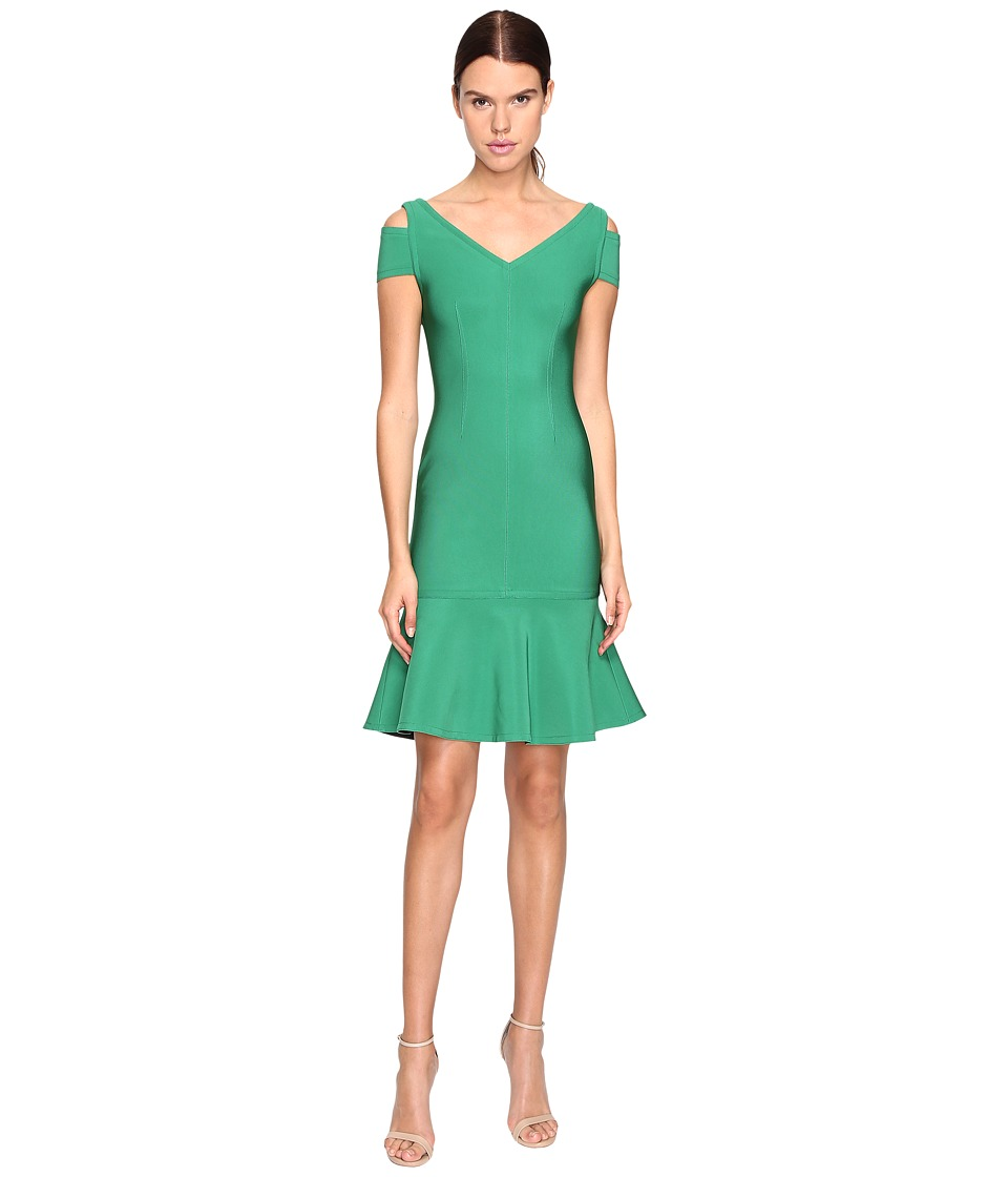 YIGAL AZROUEL Peplum Dress (Green) Women