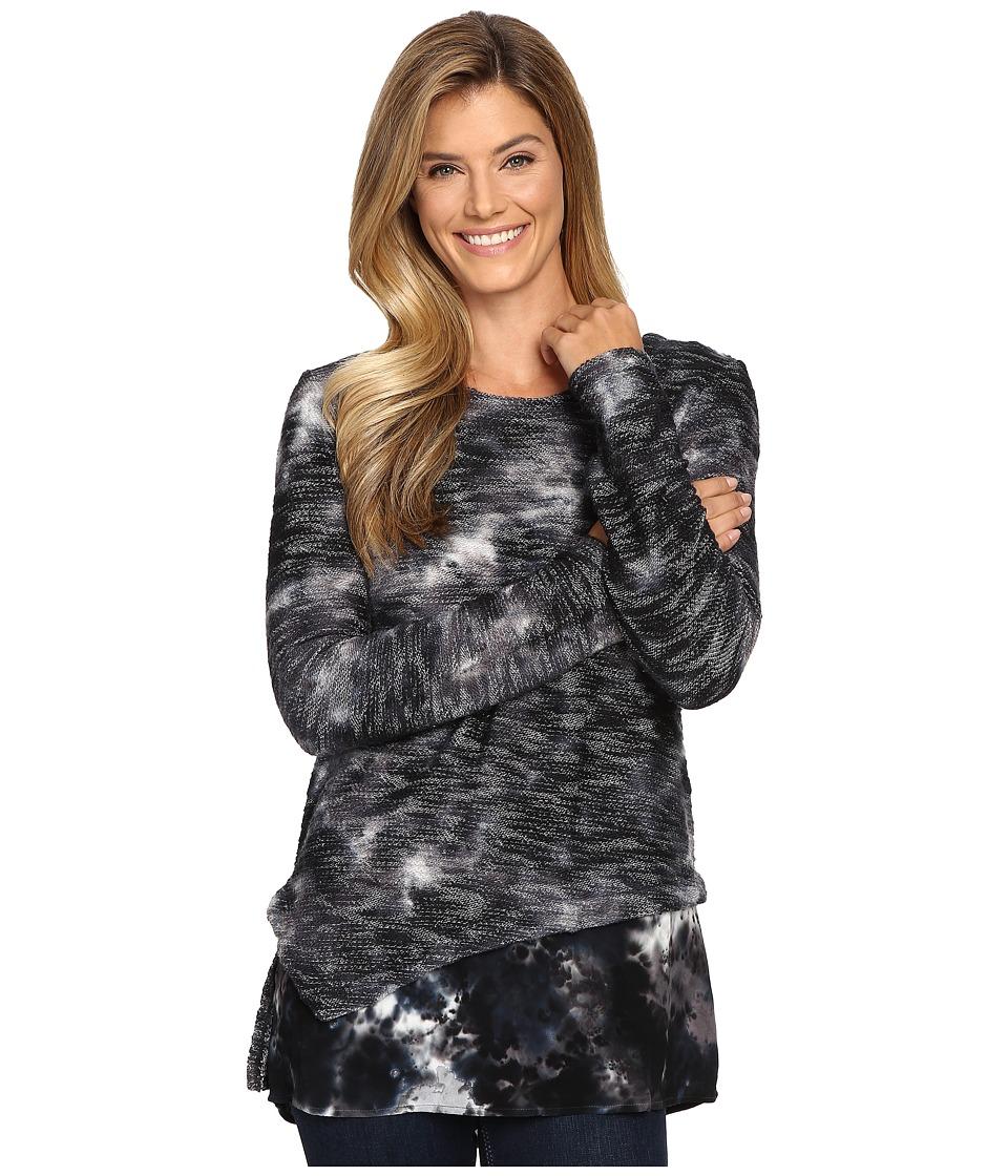XCVI - Gabriella Top (Palette Wash Rock) Women's Clothing
