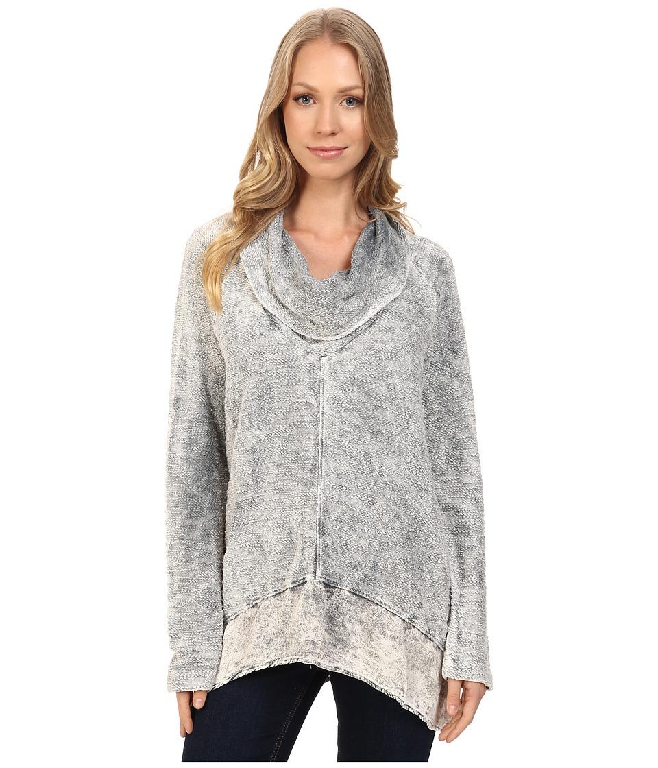 XCVI - Bibiana Top (Distressed Wash Sandstone) Women's Clothing