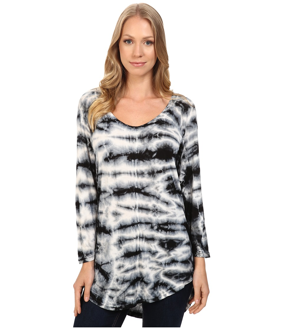 XCVI - Claudia Top (Iceburg Wash Dark Sky) Women's Clothing
