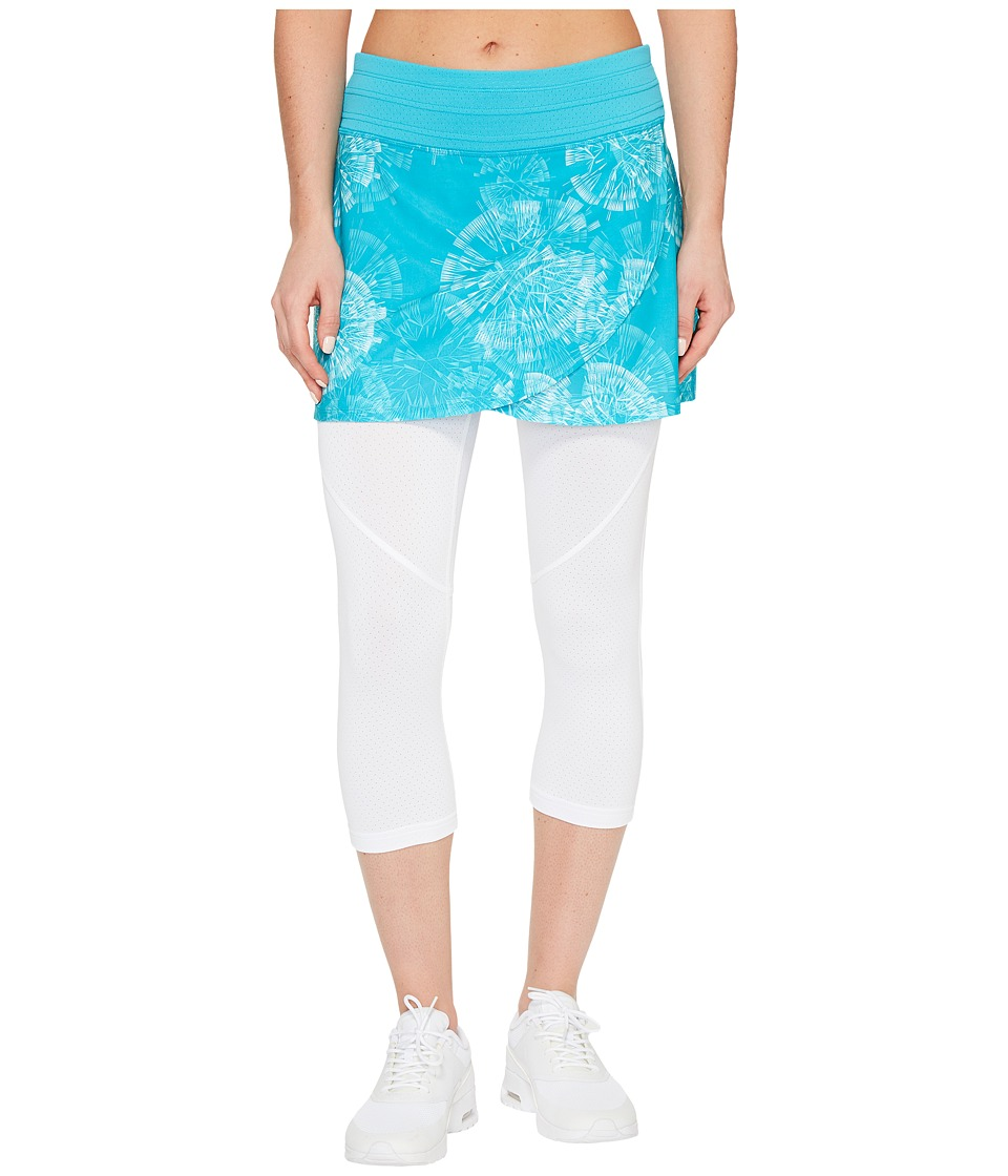 Skirt Sports - Hover Capri Skirt (Clarity Print/White) Women's Skort