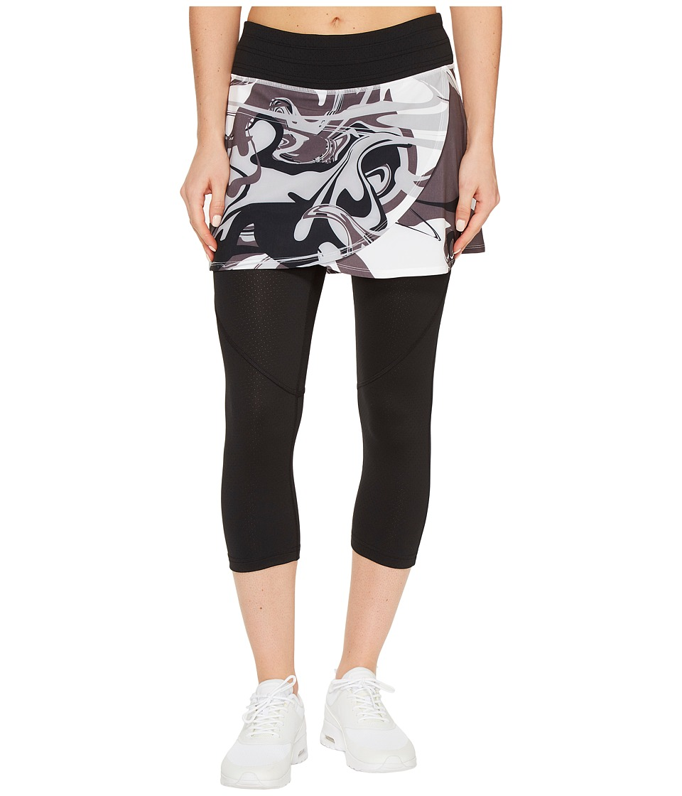 Skirt Sports - Hover Capri Skirt (Persevere Print/Black) Women's Skort