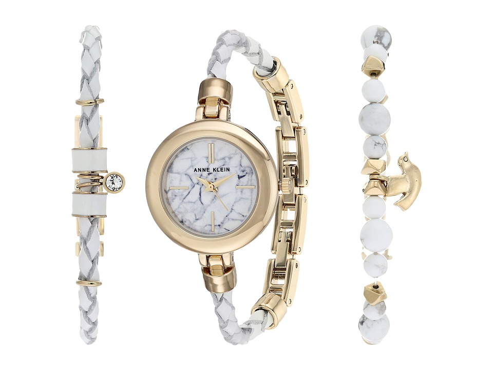 Anne Klein - AK-2766HLTE (White) Watches