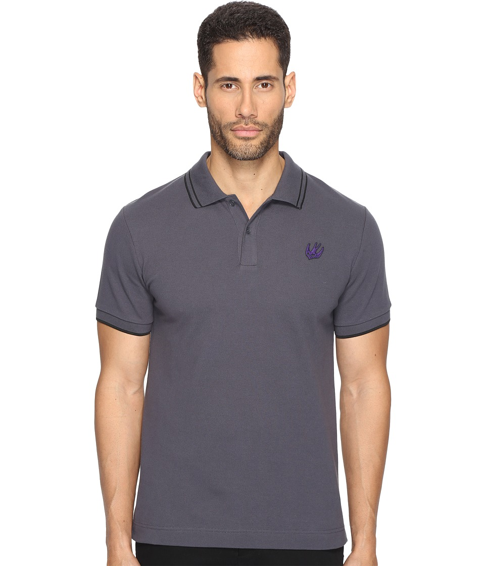 McQ - McQ Swallow Polo (Ozzy Grey) Men's Clothing