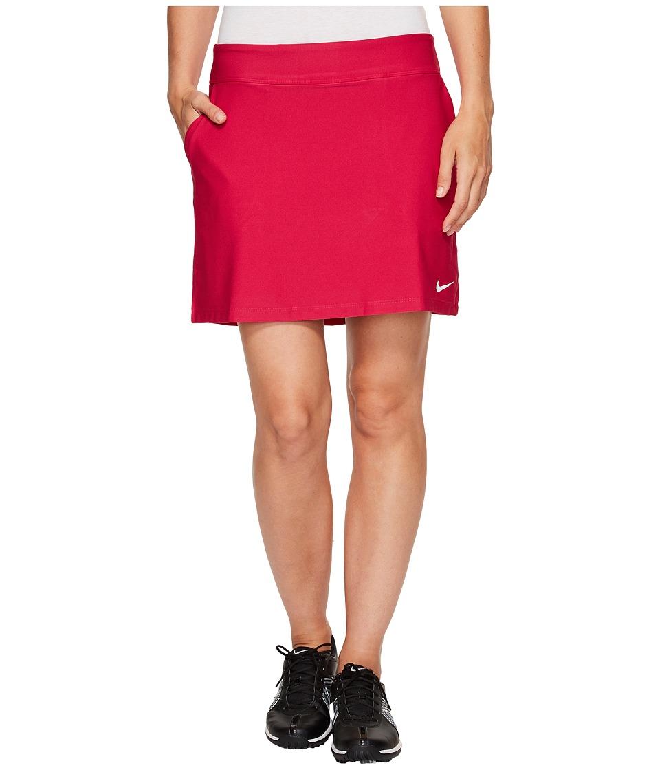 Nike Golf Tournament Knit Skort (Sport Fuchsia/White) Women