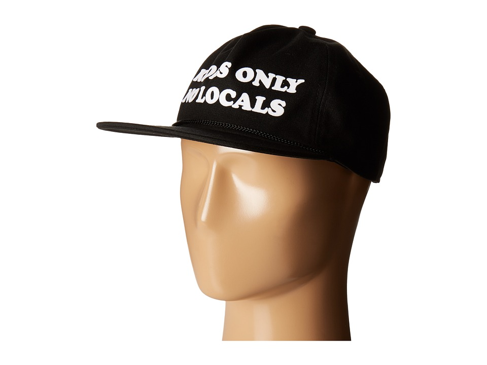Coal - The Kooks SE (Black) Caps