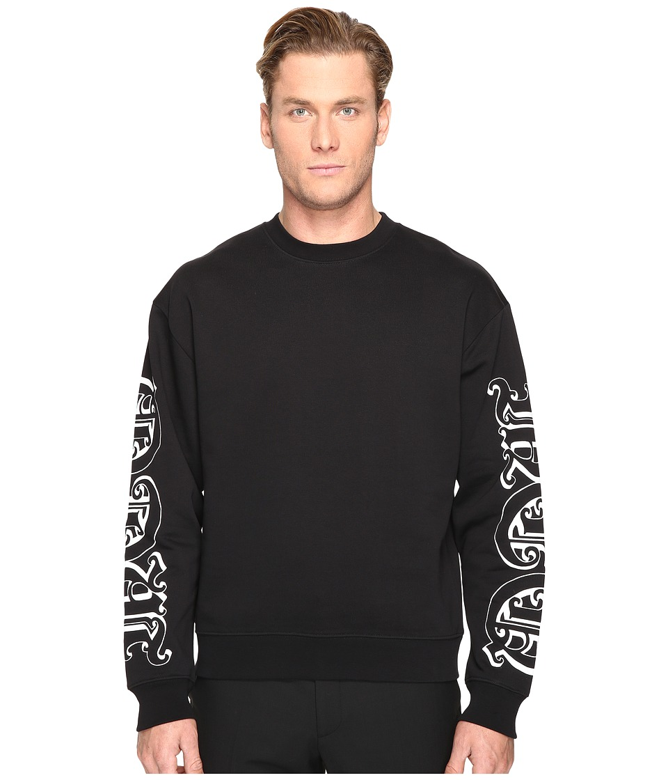 McQ - Oversized Sweatshirt (Darkest Black) Men's Sweatshirt