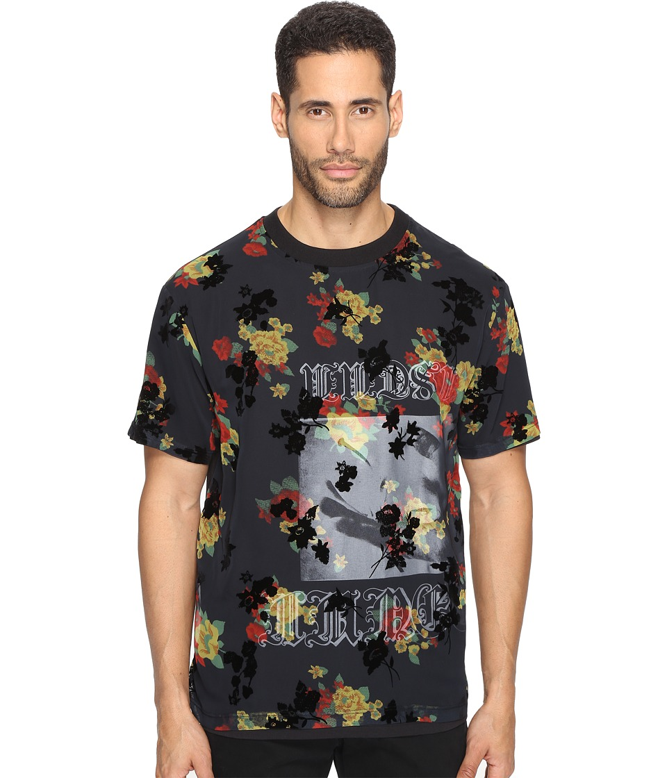 McQ - Overlay T-Shirt (Darkest Black) Men's T Shirt