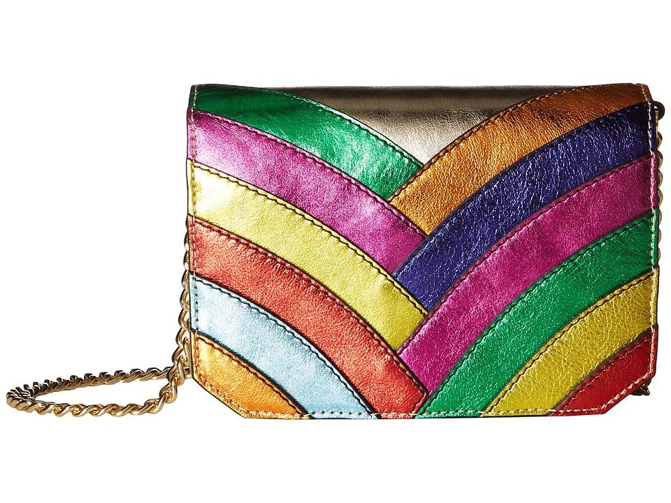 Just Cavalli - Colored Laminated Leather Over the Shoulder Bag (Multi) Shoulder Handbags