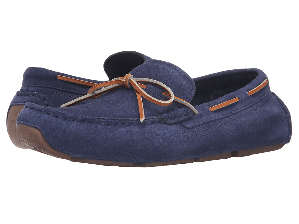 Cole Haan Kelson Camp Moc (Blazer Blue Suede) Men