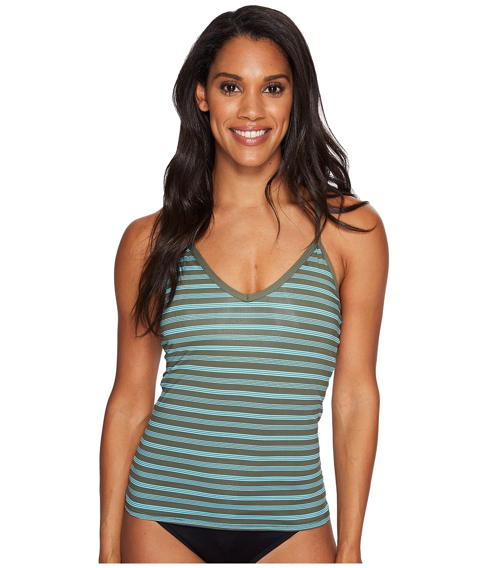 Carve Designs - Catalina Tankini (Canyon Stripe) Women's Swimwear