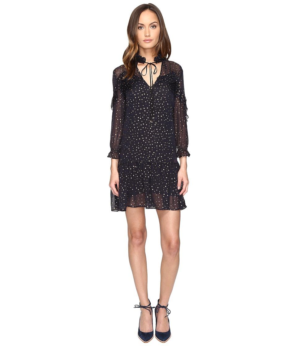 Just Cavalli 3-4 Sleeve Pois Print Dress