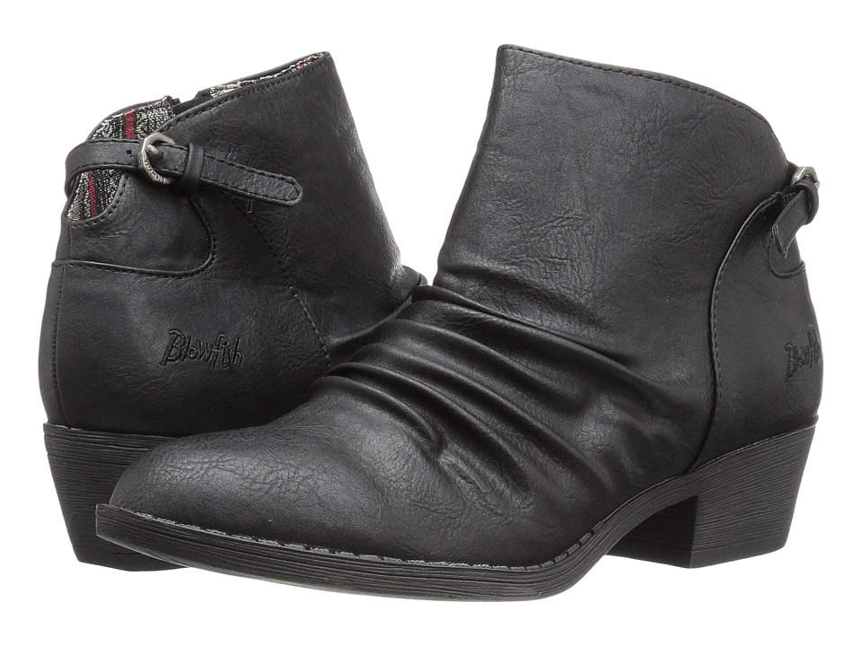 Blowfish - Strike (Black Old Ranger PU) Women's Boots