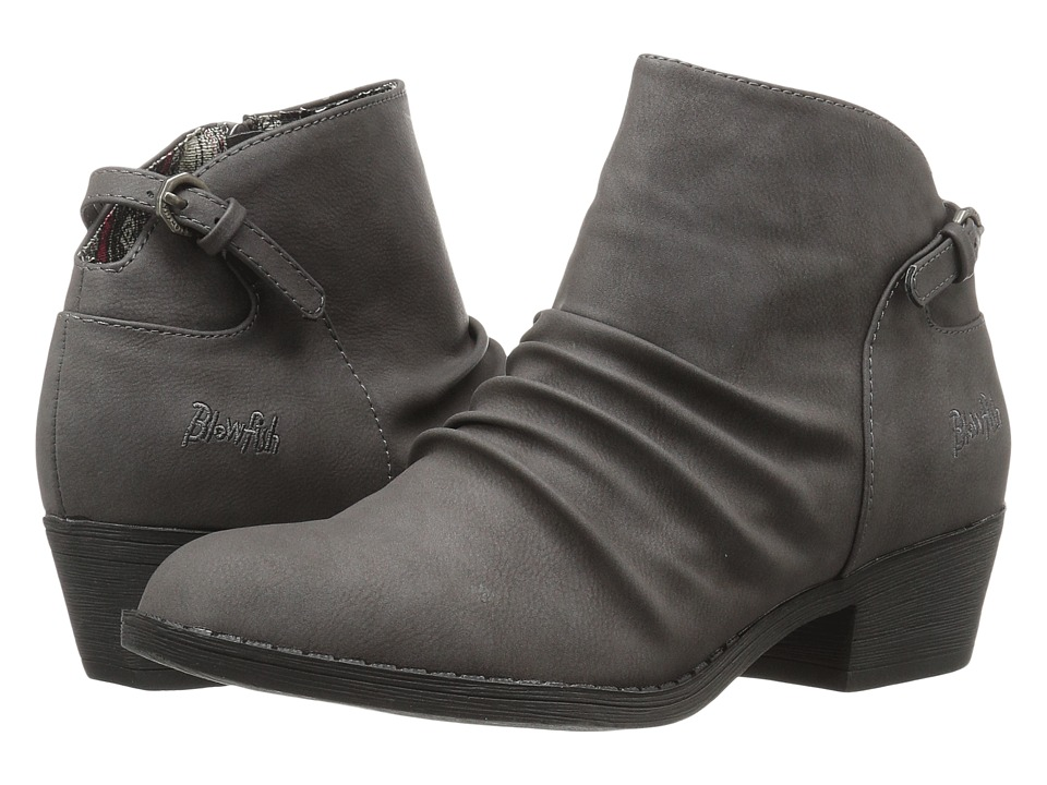 Blowfish - Strike (Grey Old Mexico PU) Women's Boots