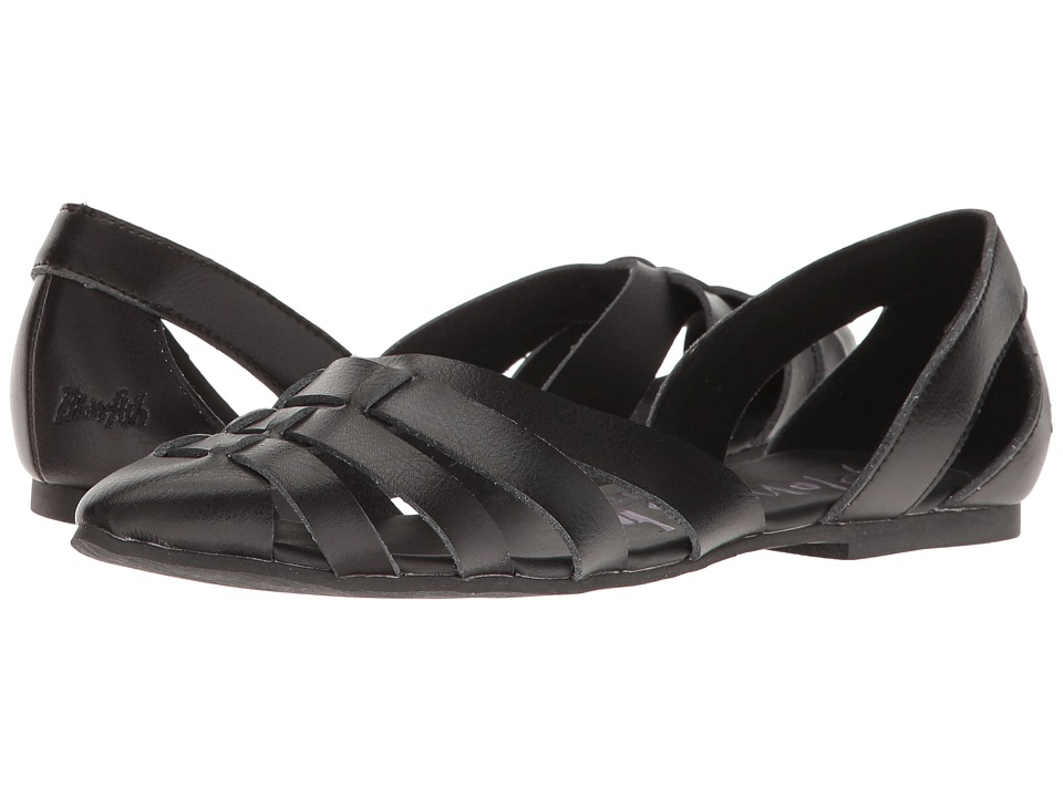 Blowfish - Zeal (Black Dyecut PU) Women's Sandals