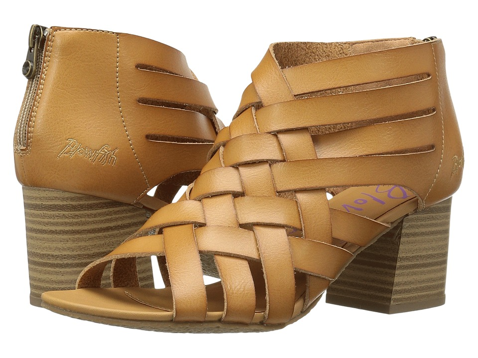 Blowfish - Flame (Desert Sand Dyecut PU) High Heels