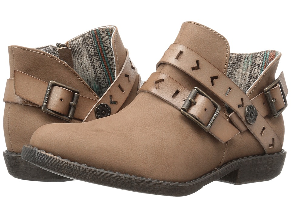 Blowfish - Anotole (Sand Old Mexico/Bark Dyecut PU) Women's Boots