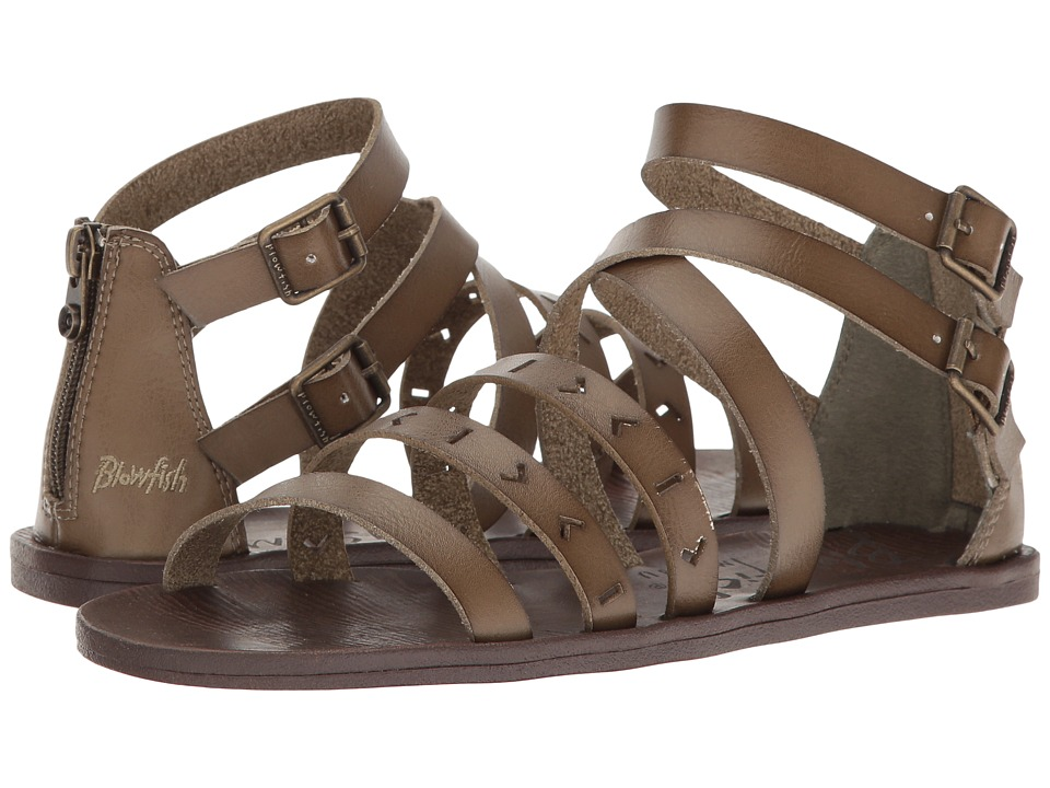 Blowfish - Doda (Khaki Dyecut PU) Women's Sandals