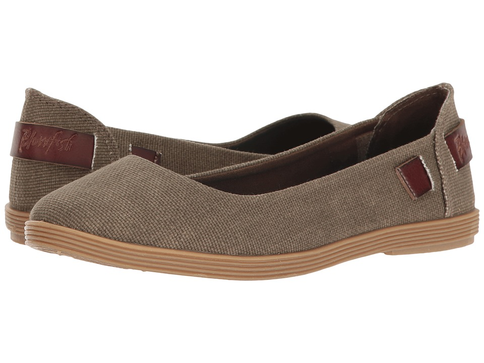 Blowfish - Gertrude (Brown Rancher/Whiskey Dyecut PU) Women's Slip on Shoes