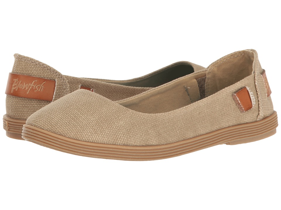Blowfish - Gertrude (Desert Sand Rancher Canvas/Dyecut PU) Women's Slip on Shoes