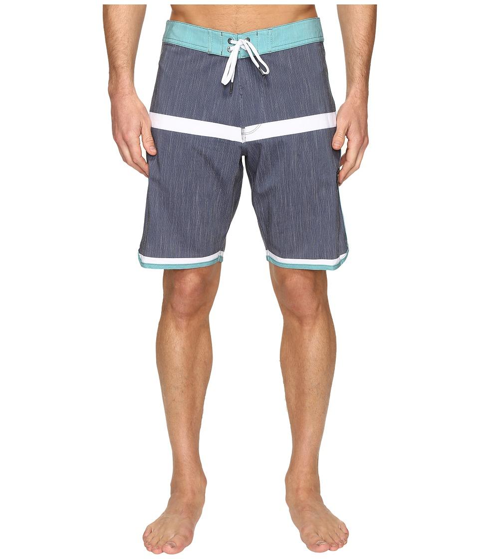 VISSLA - Dredges 20 Boardshort (Dark Navy) Men's Swimwear