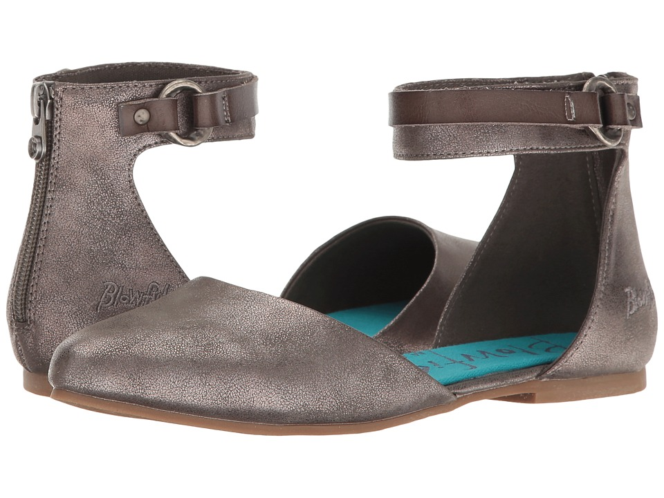 Blowfish - Zate (Pewter Meteorite Metallic/Grey Dyecut) Women's Flat Shoes