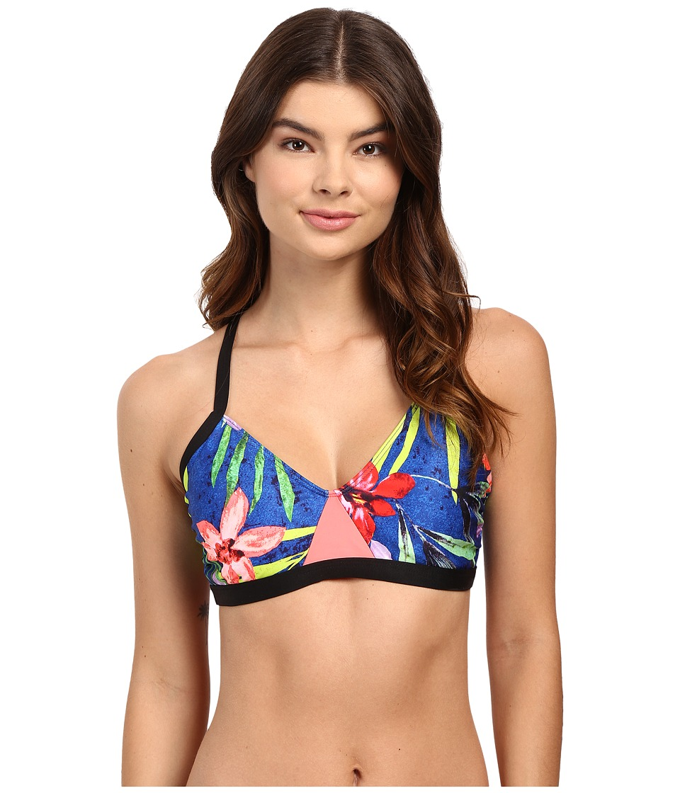 Next by Athena - Tropic Fusion Paddle Out Sport Bra (Multi) Women's Swimwear
