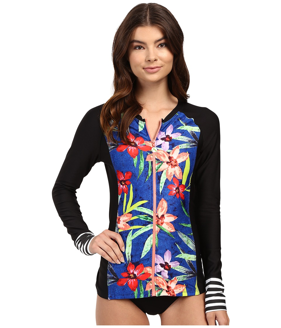 Next by Athena - Tropic Fusion Off Shore Surf Shirt (Multi) Women's Swimwear