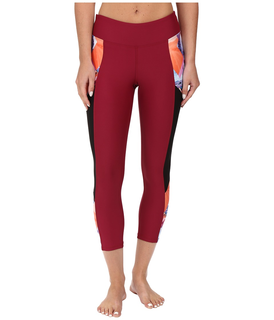 Next by Athena Palm Pop Nalu Crop Legging (Multi) Women