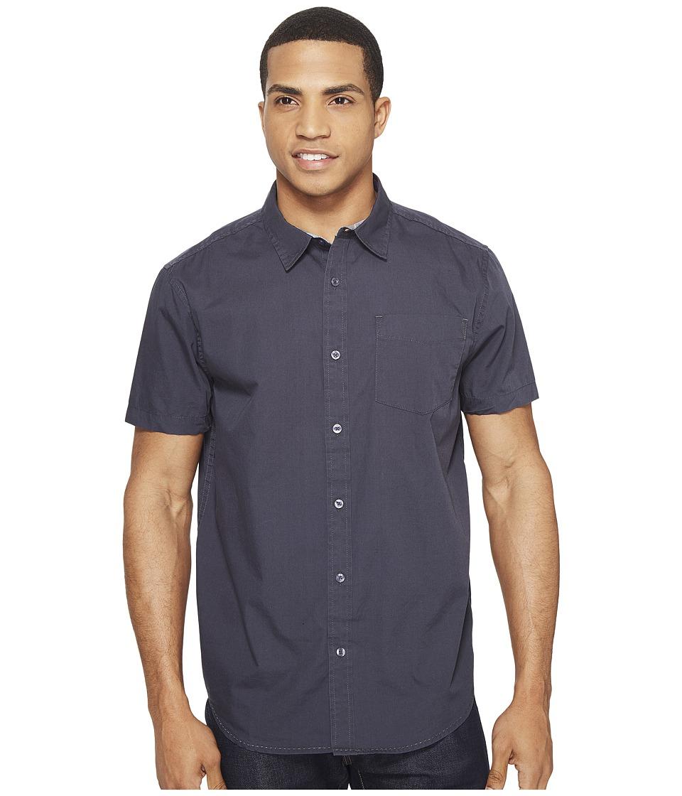 Prana - Ecto (Coal) Men's Short Sleeve Button Up