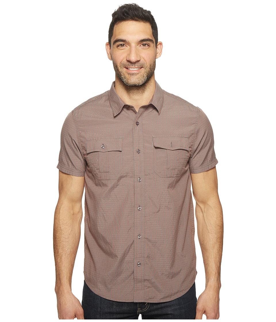 Prana - Ostend (Gravel 2) Men's Short Sleeve Button Up