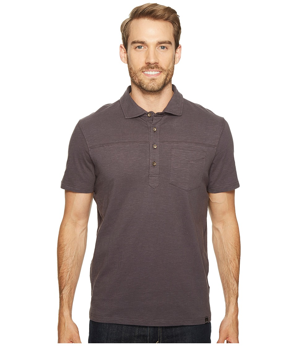 Prana - Slugger Polo (Coal) Men's Clothing