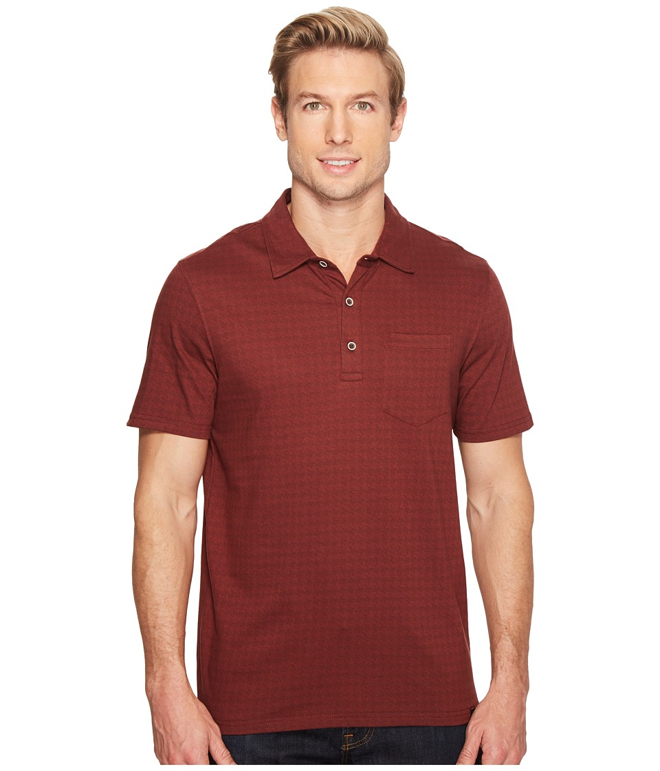 Prana - Adder Polo (Raisin) Men's Clothing