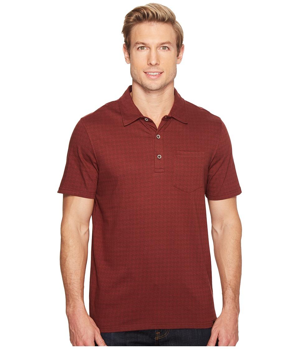 Prana - Adder Polo (Raisin) Men's Clothing