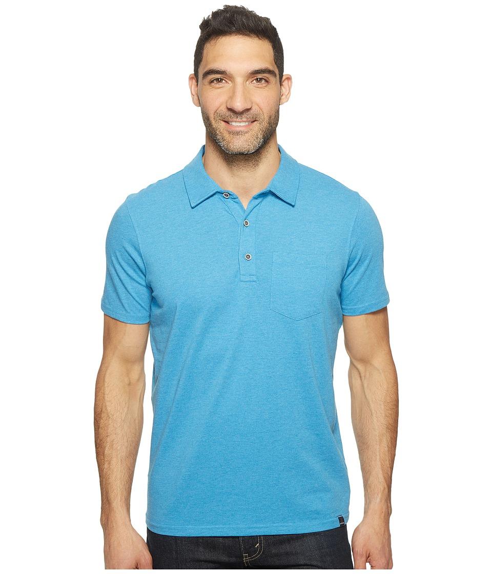 Prana - Adder Polo (Vortex Blue) Men's Clothing