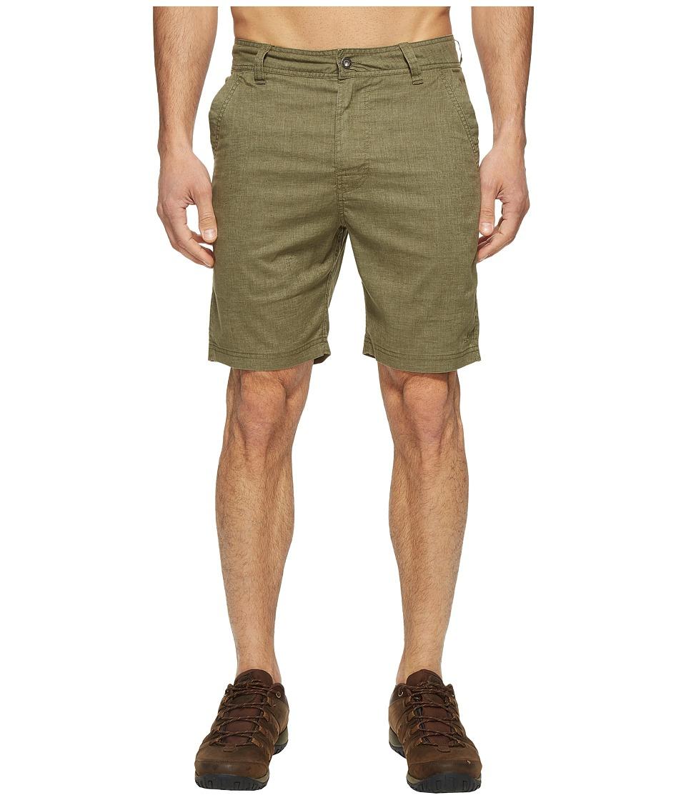 Prana - Furrow Short (Cargo Green) Men's Shorts