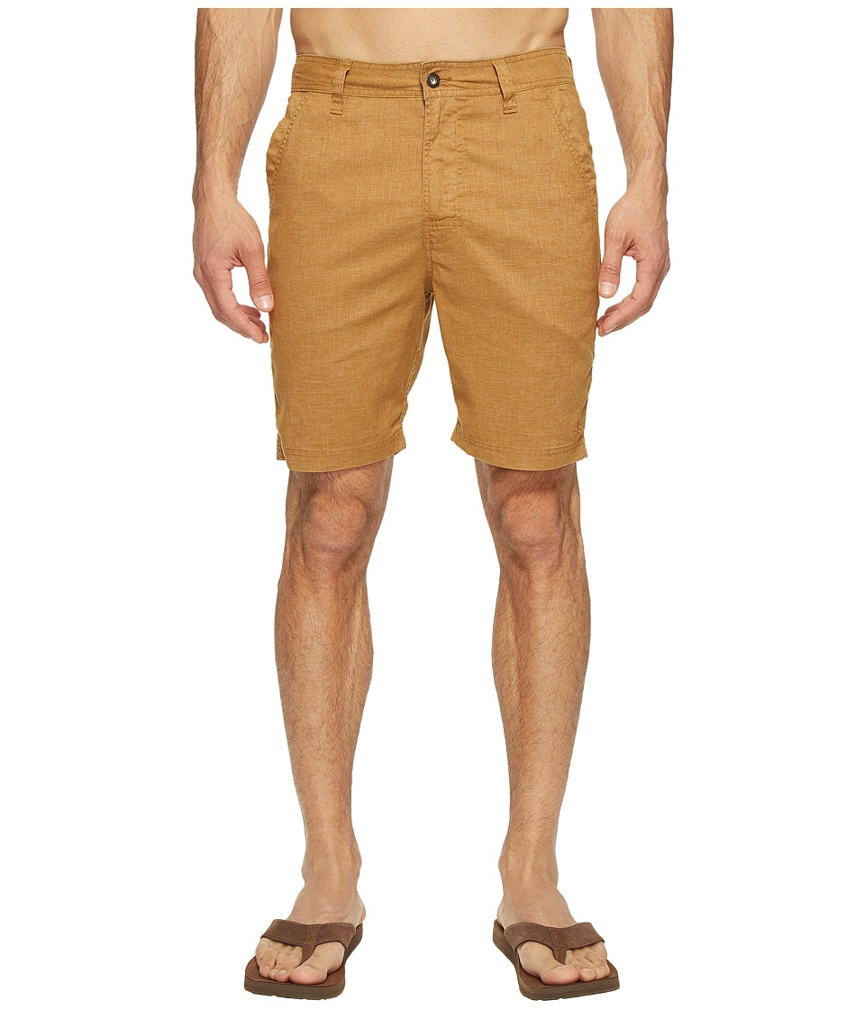Prana - Furrow Short (Dark Ginger) Men's Shorts