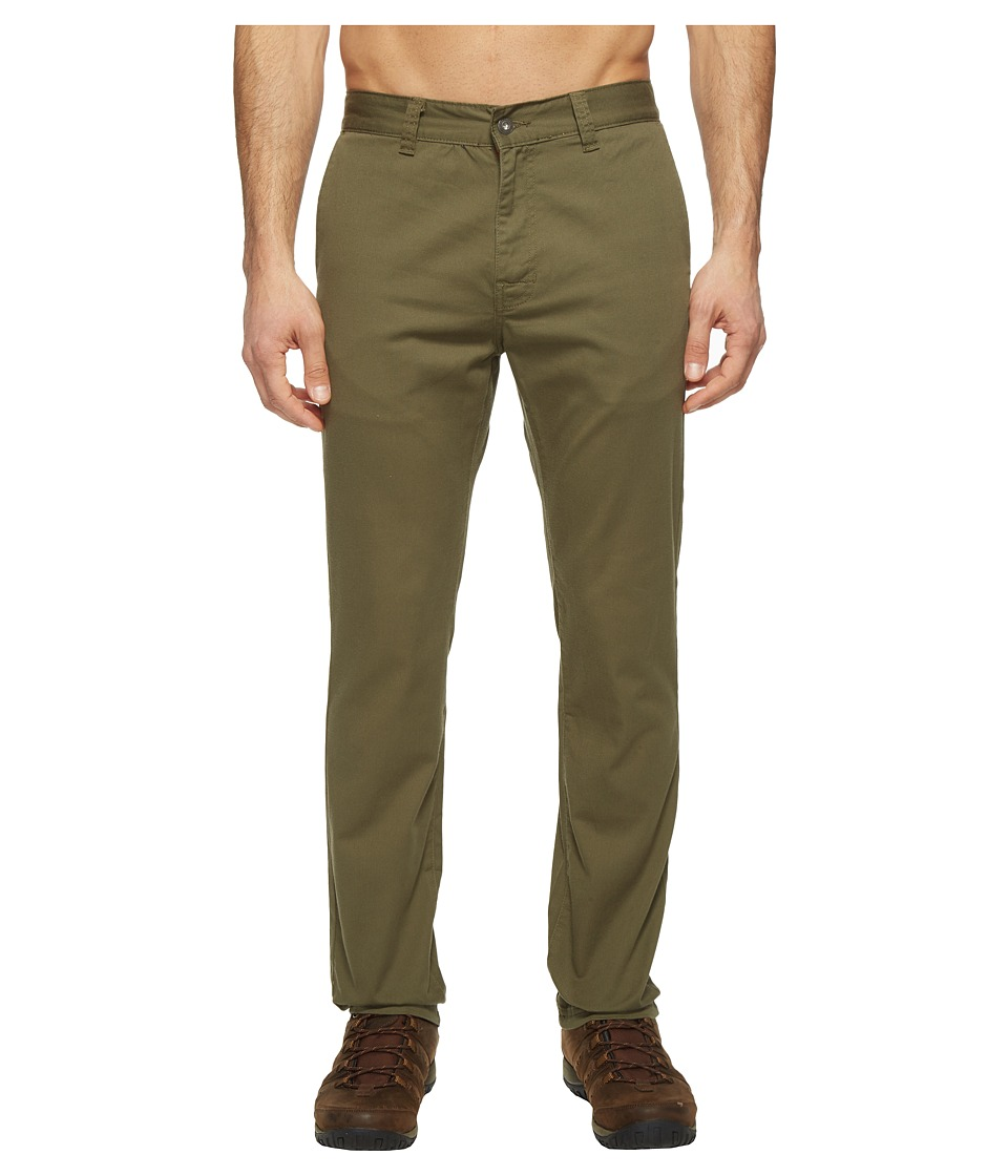 Prana - Table Rock Chino Pants (Cargo Green) Men's Casual Pants