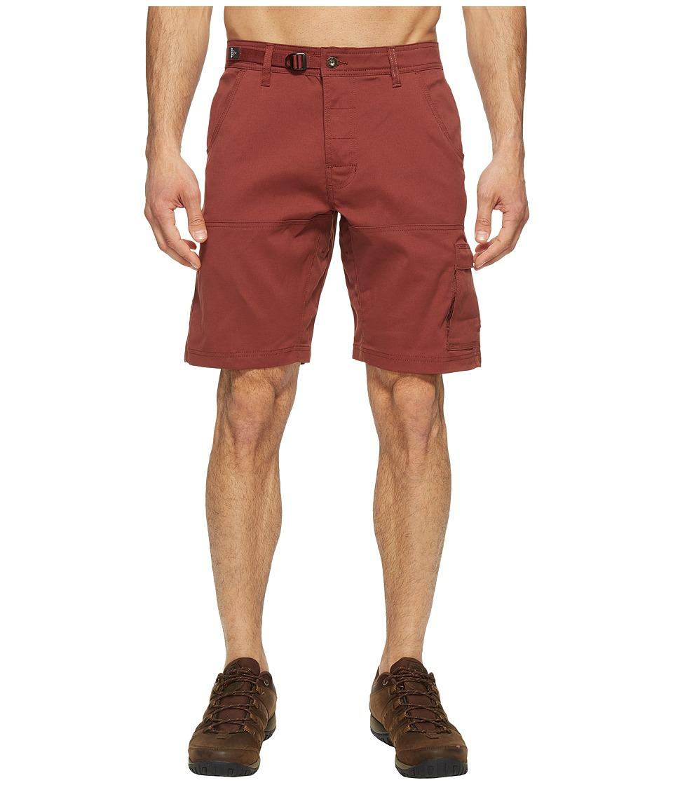 Prana - Stretch Zion Short (Raisin) Men's Shorts