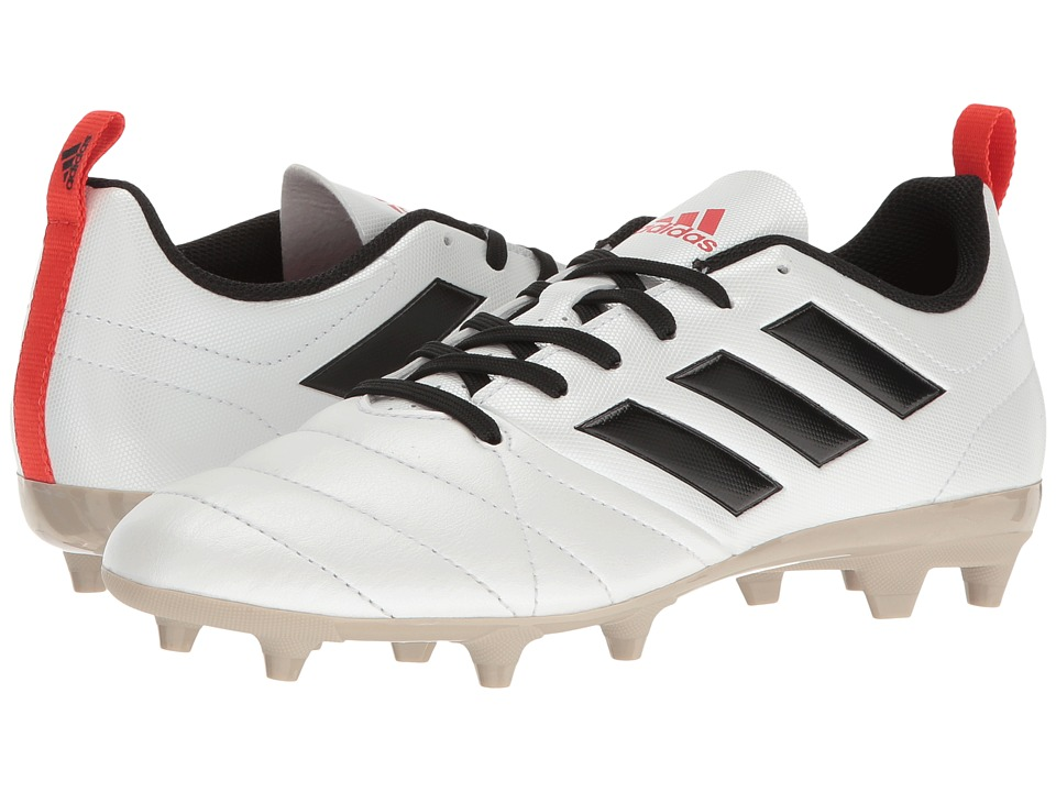 adidas - Ace 17.4 FG (Footwear White/Core Black/Core Red) Women's Soccer Shoes
