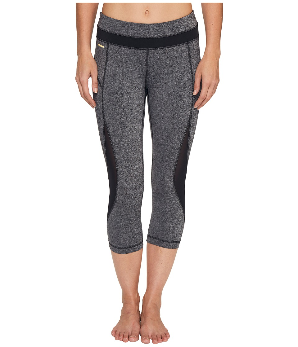 Lole - Run Capris (Black Noise) Women's Capri