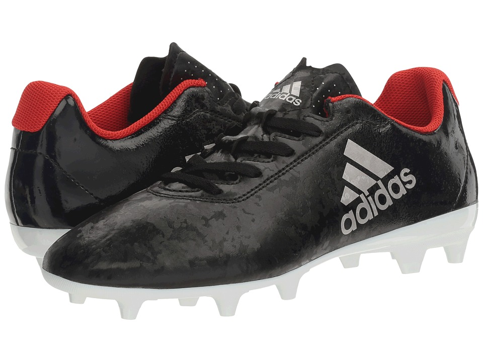 adidas - X 17.4 FG (Core Black/Platinum Metallic/Core Red) Women's Soccer Shoes