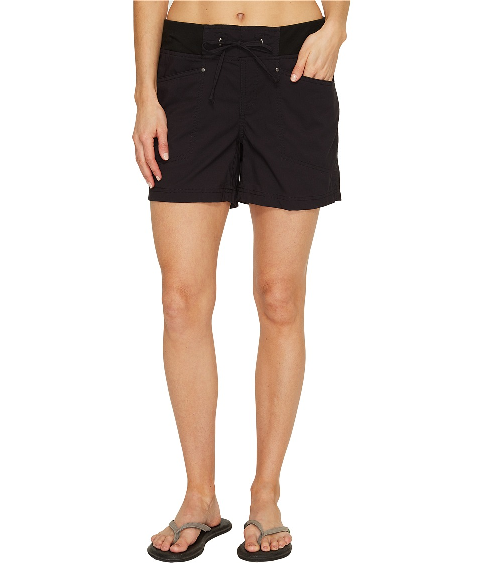 Royal Robbins - Jammer Shorts (Jet Black) Women's Shorts