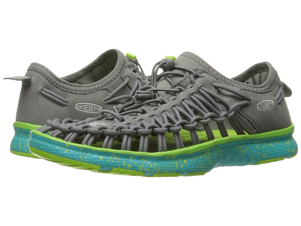 Keen Kids - Uneek O2 (Little Kid/Big Kid) (Gargoyle/Viridian) Kid's Shoes
