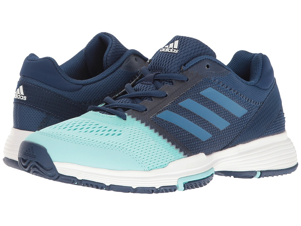 adidas - Barricade Club (Mystery Blue/Core Blue/Clear Aqua) Women's Shoes