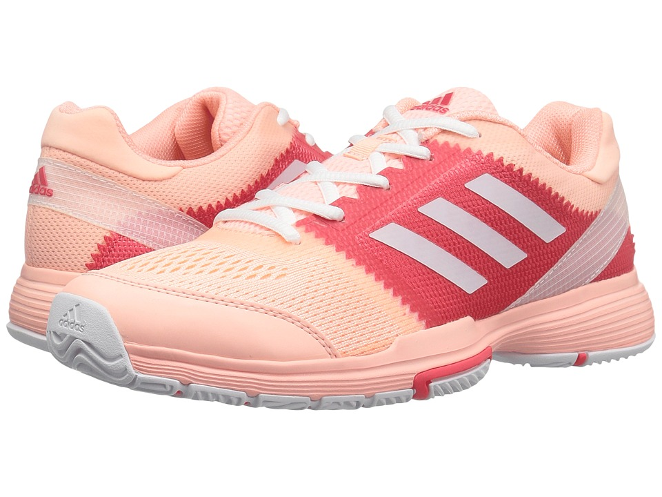 adidas - Barricade Club (Haze Coral/Footwear White/Core Pink) Women's Shoes